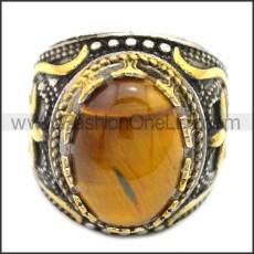 Stainless Steel Ring r008552SHG