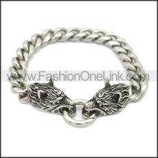 Stainless Steel Bracelet b009824S