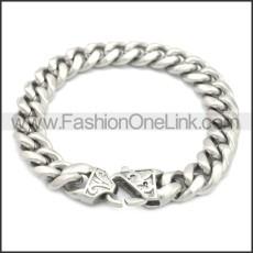 Stainless Steel Bracelet b009838S2