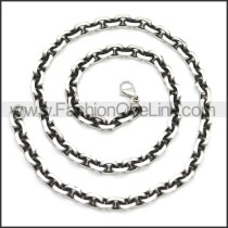 Stainless Steel Chain Neckalce n003146SA1