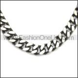 Stainless Steel Chain Neckalce n003148SA3