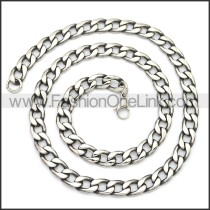 Stainless Steel Chain Neckalce n003141SA1