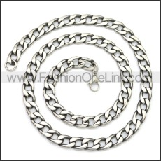 Stainless Steel Chain Neckalce n003141SA1