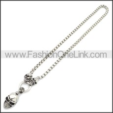 Stainless Steel Chain Neckalce n003152S