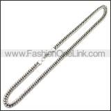 Stainless Steel Chain Neckalce n003149SA5