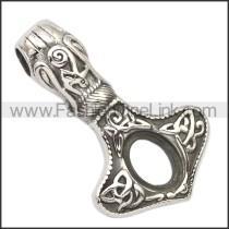Stainless Steel Pendant p010687SH