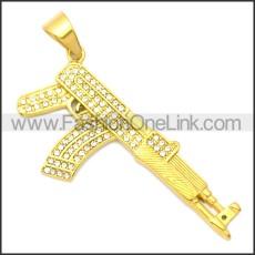 Stainless Steel Pendant p010679G