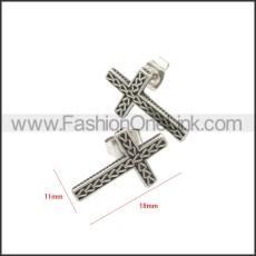 Stainless Steel Earring e002134SA