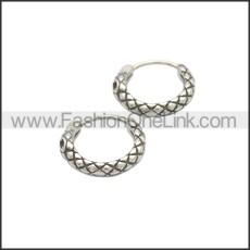 Stainless Steel Earring e002133SA