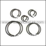 Stainless Steel Earring e002136H3