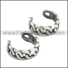 Stainless Steel Earring e002158SA