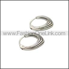 Stainless Steel Earring e002135SA