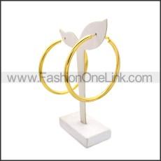 Stainless Steel Earring e002136G1