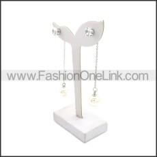 Stainless Steel Earring e002137S1