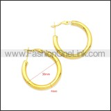 Stainless Steel Earring e002136G4