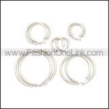 Stainless Steel Earring e002136S1