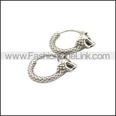 Stainless Steel Earring e002127SA