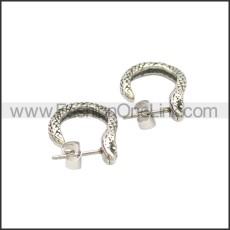 Stainless Steel Earring e002125SA