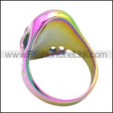 Stainless Steel Ring r008583C
