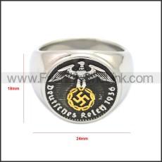 Stainless Steel Ring r008683SH