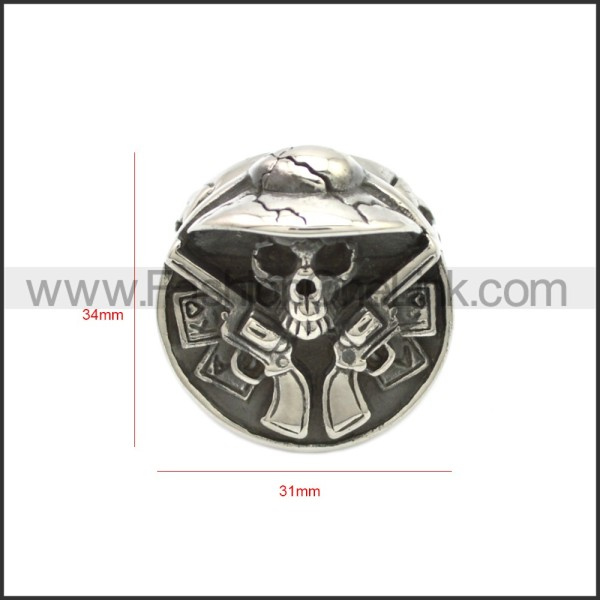 Stainless Steel Ring r008684SH