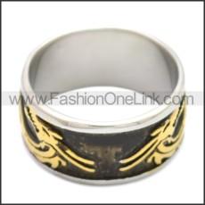 Stainless Steel Ring r008677SHG