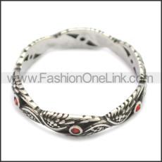 Stainless Steel Ring r008607SH2