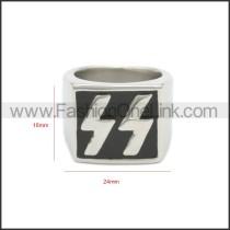 Stainless Steel Ring r008685SH