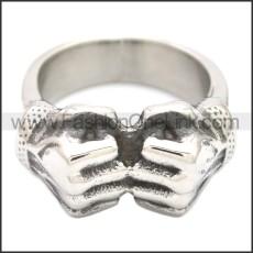Stainless Steel Ring r008589SH