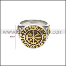 Stainless Steel Ring r008688SGA