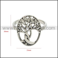 Stainless Steel Ring r008687S