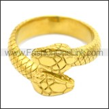 Stainless Steel Ring r008596G