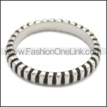 Stainless Steel Ring r008672SH