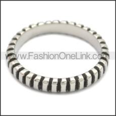 Stainless Steel Ring r008672SH