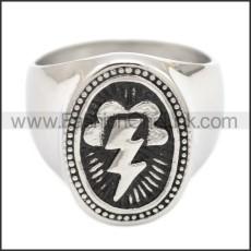 Stainless Steel Ring r008590SH