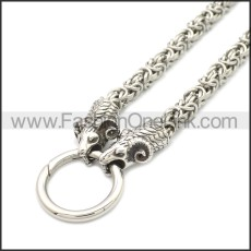 Sheep Viking Necklace Chain n003155S