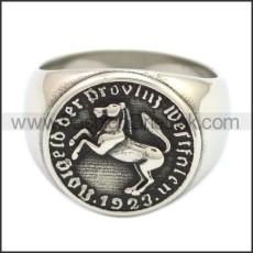 Stainless Steel Ring r008593SH