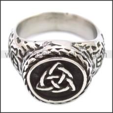 Stainless Steel Ring r008586SH