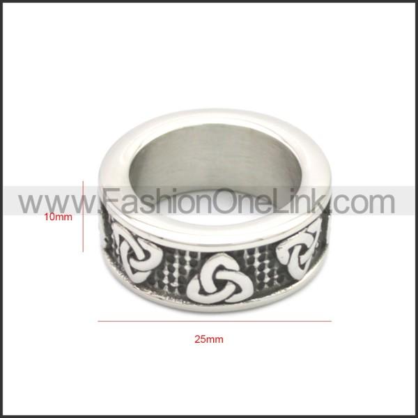Stainless Steel Ring r008686SH