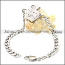 Stainless Steel Bracelet b009900S