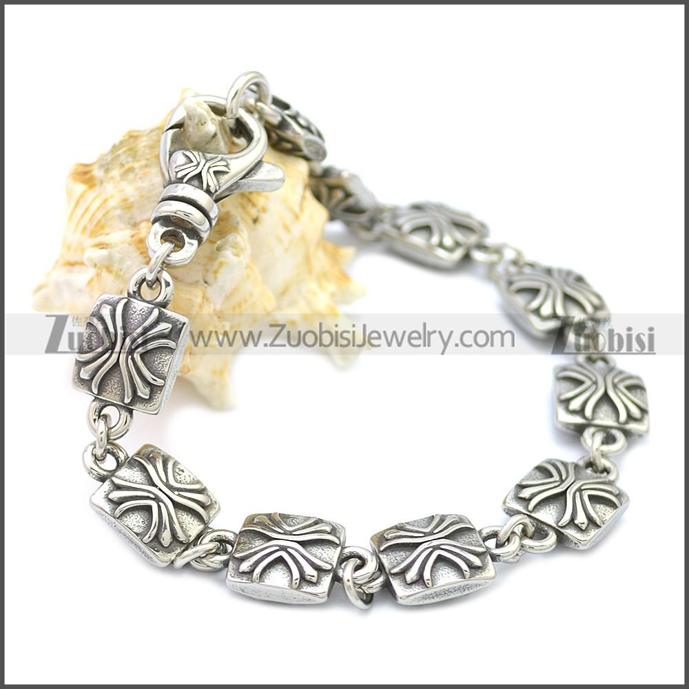Stainless Steel Bracelet b009925SA