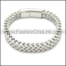 Stainless Steel Bracelet b009877S