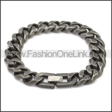 Stainless Steel Bracelet b009881A
