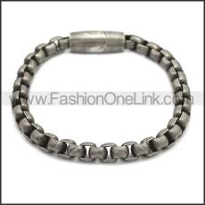 Stainless Steel Bracelet b009879A