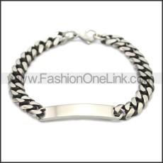 Stainless Steel Bracelet b009908SA2
