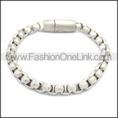 Stainless Steel Bracelet b009879S