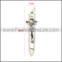 Stainless Steel Pendant p010717S