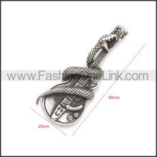 Stainless Steel Pendant p010731SA