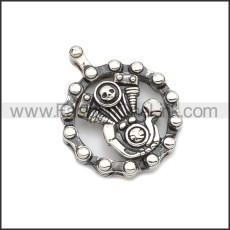 Stainless Steel Pendant p010766SH