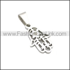Stainless Steel Pendant p010759S